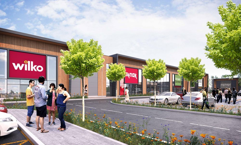 Shopping park from converted college set to create 250 jobs
