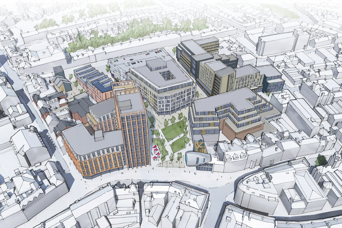 Plans for Major City Centre Regeneration to be Showcased
