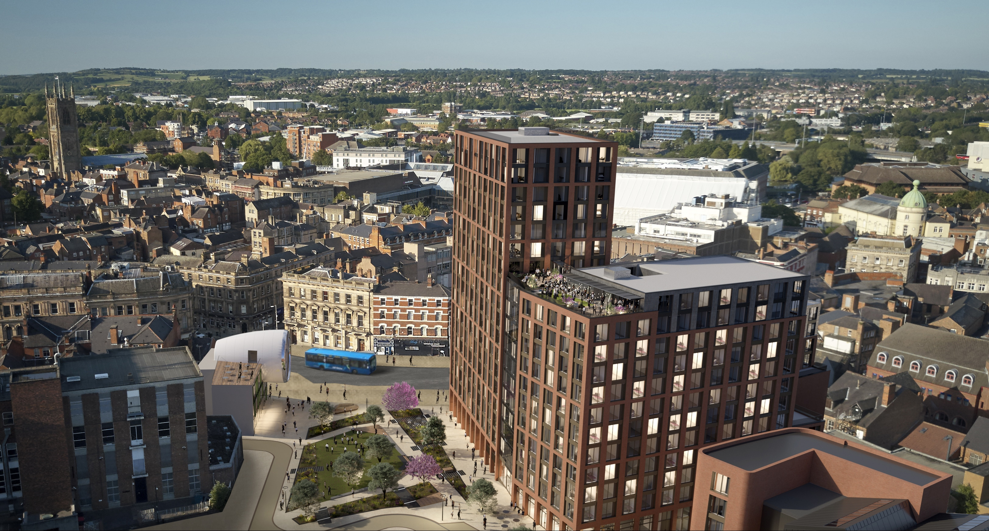 Key Stakeholders and Members of the Public Throw Their Support Behind Plans for the Regeneration of Becketwell